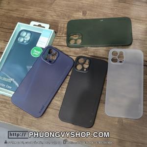"""Ốp lưng iPhone 12 Pro 6.1"""" - Memumi siêu mỏng 0.3mm"""